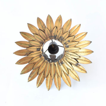 Small sun ceiling light