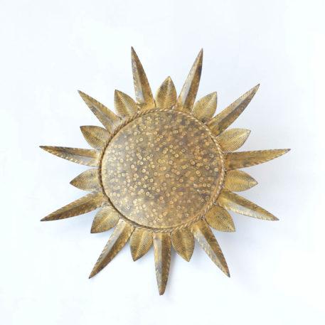 Antique Spanish sunburst light