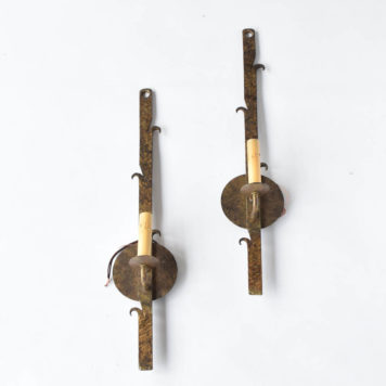 Spanish sconces with tall thin design