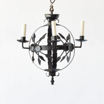 Sphere Shaped Chandelier with 4 Lights