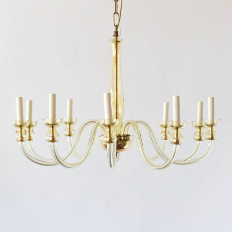Czech simple glass chandelier