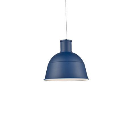 Indigo blue small dome pendant
