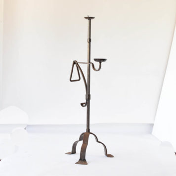 2 tier iron floor lamp