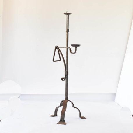2 tier iron floor lamp