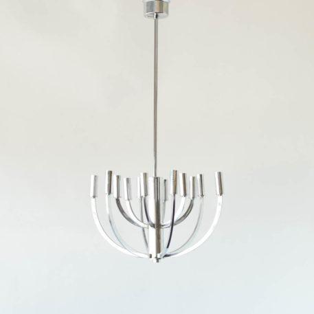 Candelabra inspired mid century light fixture