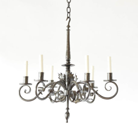 Vintage Spanish chandelier made for candles