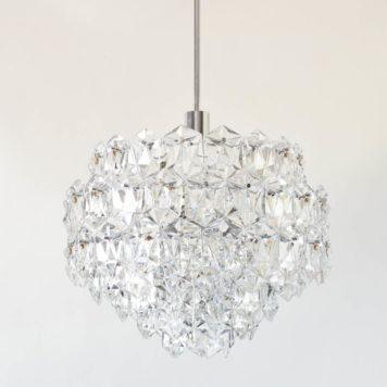Mid Century Modern Crystal Pendant