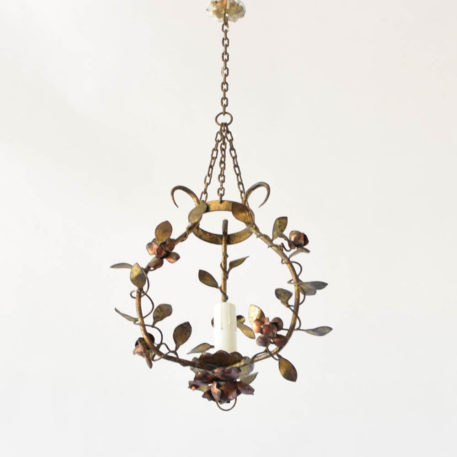 Vintage Spanish Iron Pendant