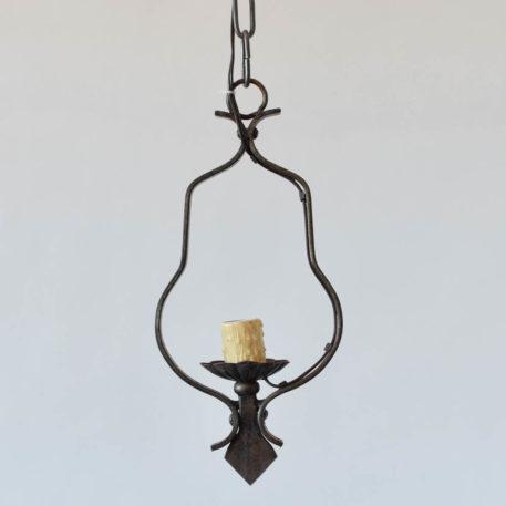 Vintage iron pendant from Belgium