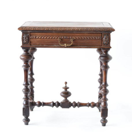 Wooden side table from henry III
