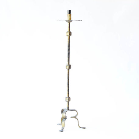 Simple antique iron floor lamp